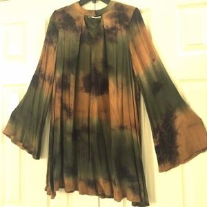 Tie Dye flowy dress